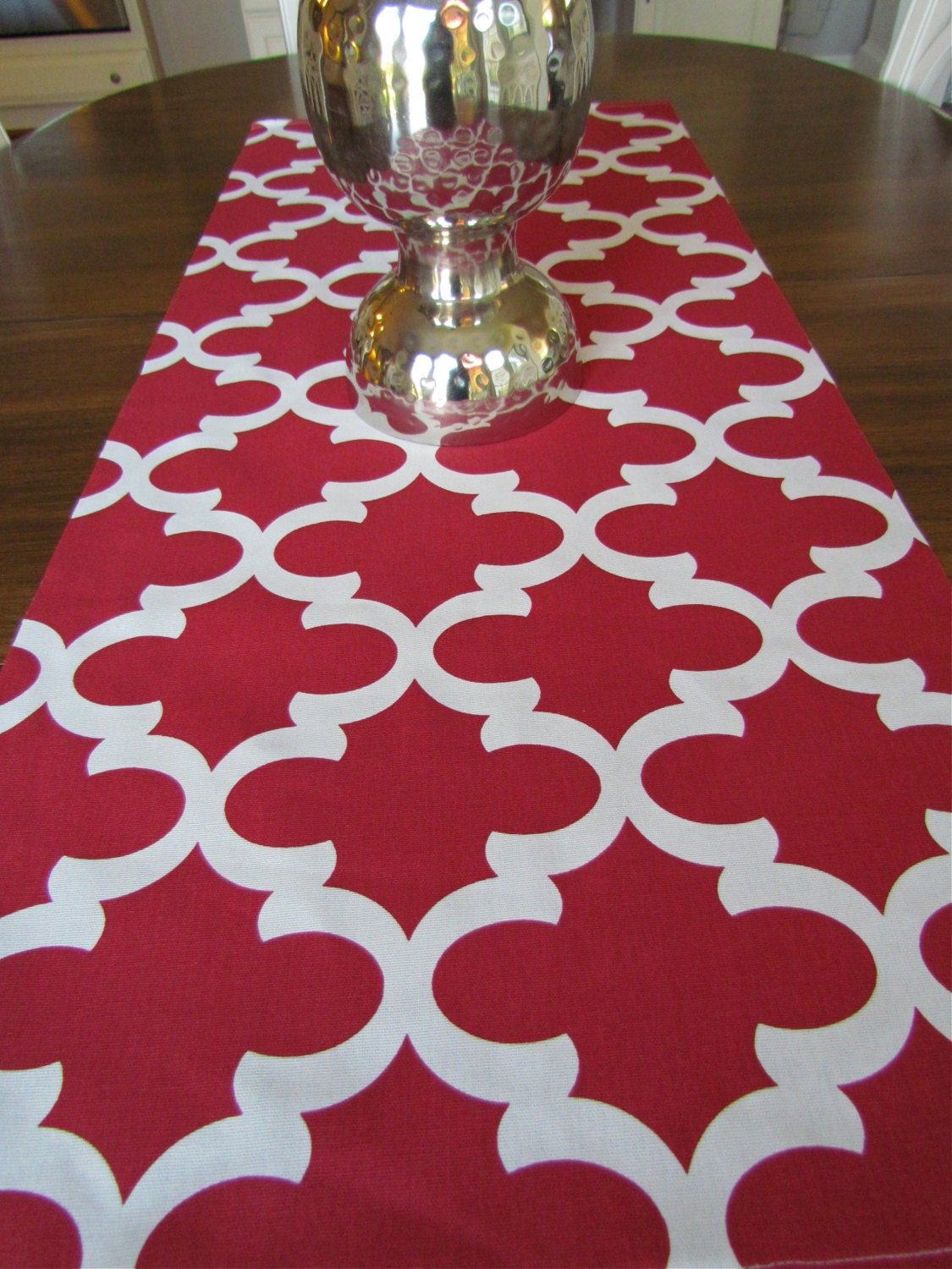 red table runner 12 x 48 red table runners christmas. Black Bedroom Furniture Sets. Home Design Ideas