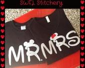 Mr and Mrs Disney T-Shirts
