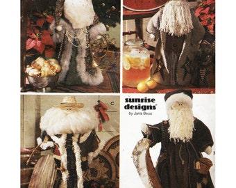 Simplicity Sewing Pattern 7921 Santa Claus Dolls Sewing Pattern Uncut