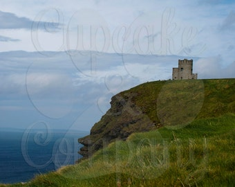 Tower on a Hill -- Cliffs of Moher in Ireland -- Choose your Size