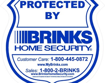 Unavailable listing on etsy for Brinks home security