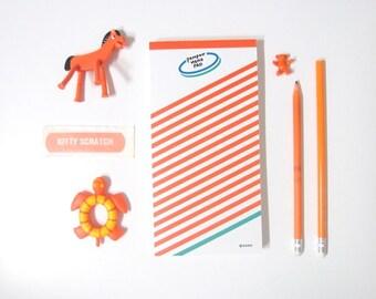 Stripe Memopad / 100 sheets / Memopad / Notepad / 101088071
