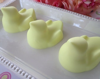 Marshmallow Chick Soap- Easter soap, soaps for kids