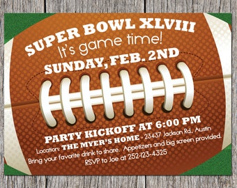 Super Bowl Invitations for nice invitations ideas