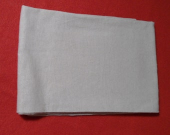 Civil War Soldier's or Civilian Linen Handkerchief with Hand Stitched Hem Large