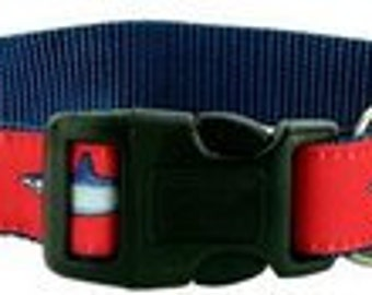 GUY HARVEY RED mako shark dog collar