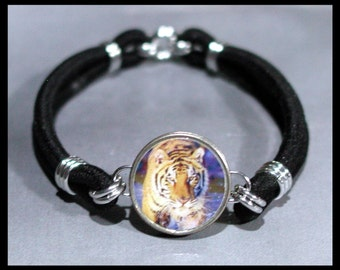 TIGER Big Cat Dime Stretch Bracelet - One size fits most - Made In USA