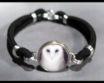 WHITE OWL Ghostly Bird Dime Stretch Bracelet - One size fits most - Made In USA