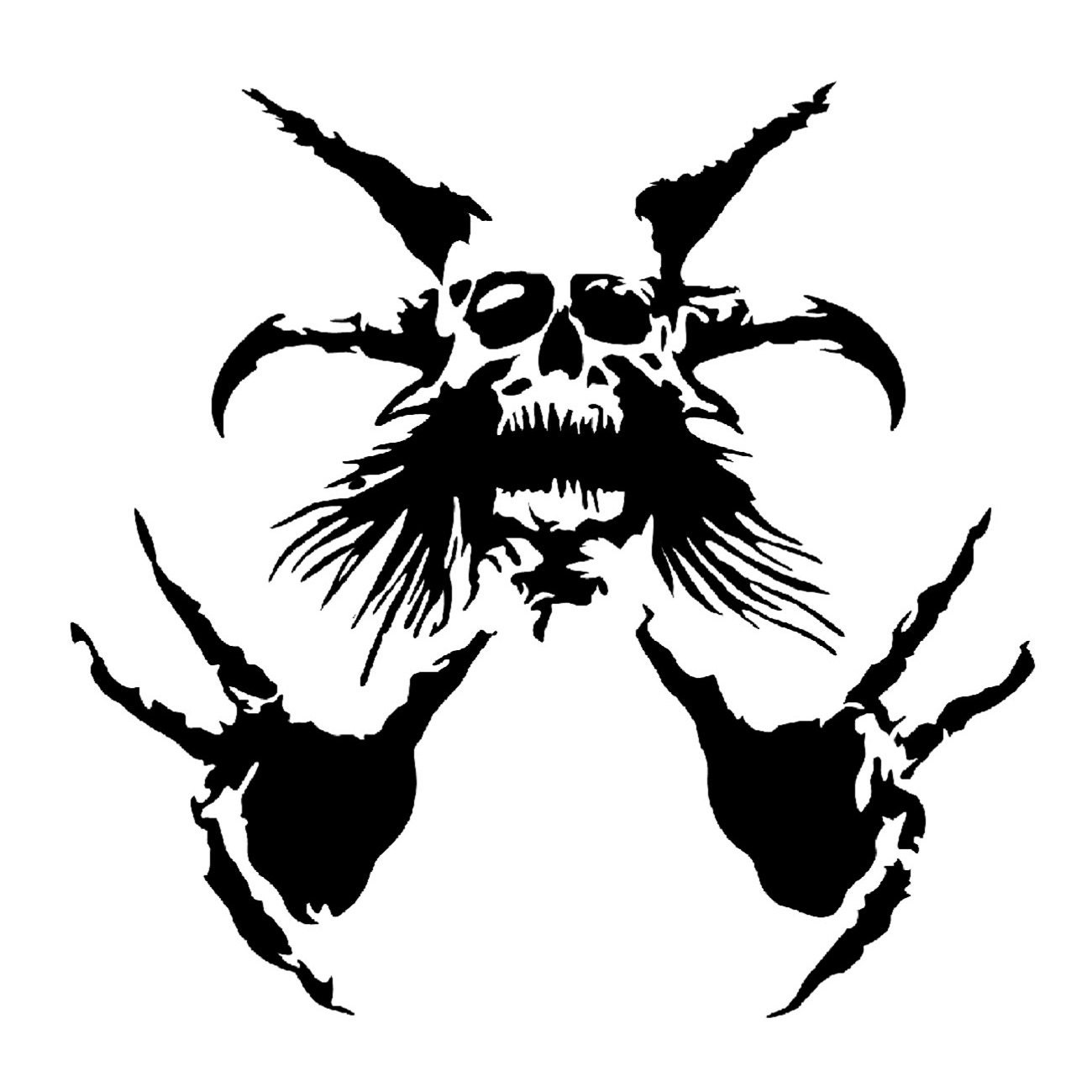 Devil Demon Decal Sticker Wall Art Car Graphics By