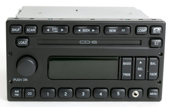 ford escape 2003 to 2004 audiophile radio am fm 6 disc cd. Black Bedroom Furniture Sets. Home Design Ideas
