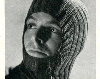 Chunky Balaclava Knitting Pattern : Popular items for balaclava on Etsy