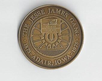 The Jesse James Gang Medal