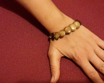SALE *** Bina collection bone bracelet made from full circles *** SALE***