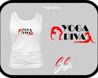 Yoga Diva Custom Women Tank Top