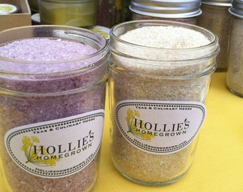 Organic Bath Salts: Rose Petal, Lavender