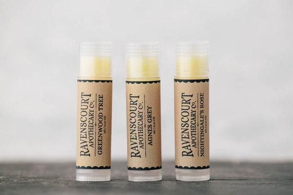 Pack of Three Natural Lip Balms