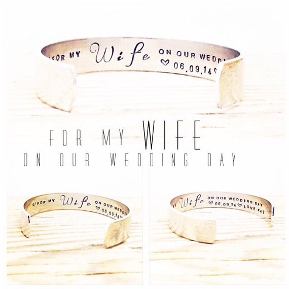 Gift For My Bride On Wedding Day: Bride Gift For My Wife On Our Wedding Day Wife Gift