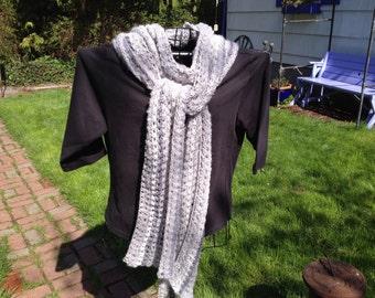 Striped Lace Wrap