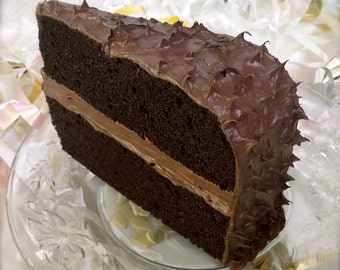 Mailable Chocolate Cake Postcard Standard Size