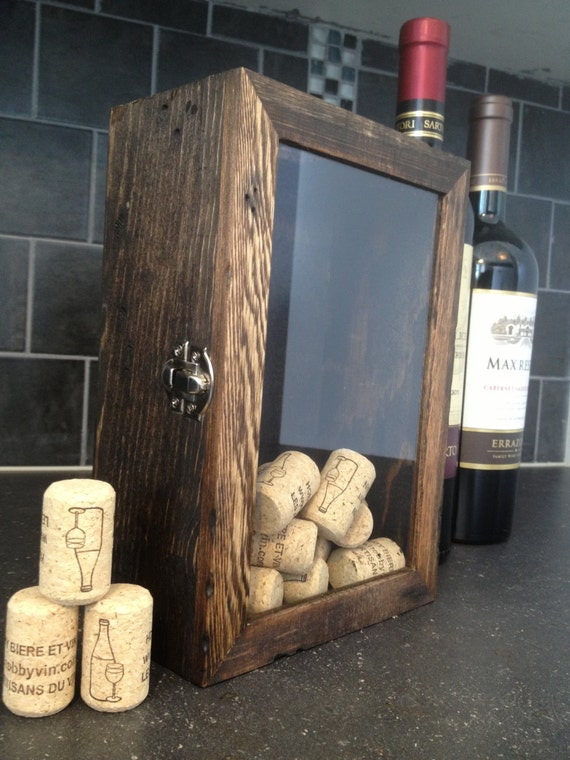 Wine Cork Holder Rustic