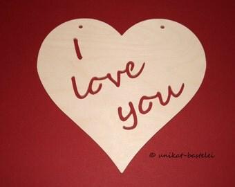 Heart – I love you – Ich liebe dich - valentinesday