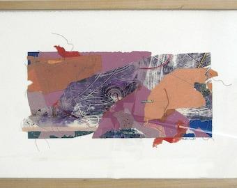 PLETHORA  framed collage