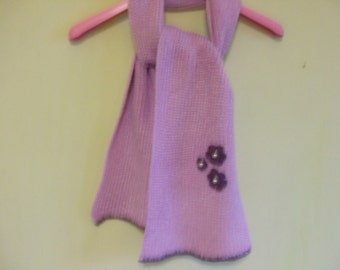 baby wool scarf