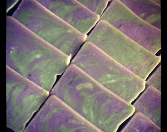 Sweetgrass Soap made with Sweetgrass infused Olive Oil. 3.5 Cold Process