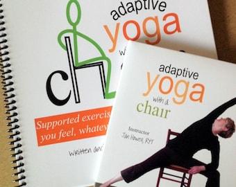 DVD & Book Set- ADAPTIVE YOGA