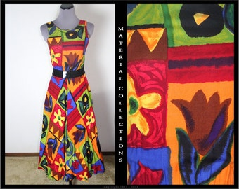 Vintage MARGO'S Hawaiian Sundress • Material Collections
