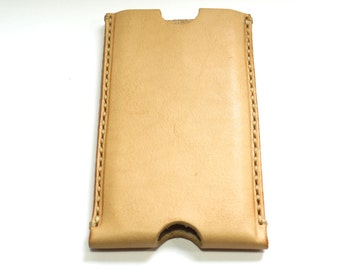 iPhone 4 (s) covers, vegetable tanned leather, handmade, iPhone 4 case, iPhone case, iPhone 4s 4s cover, handmade iPhone 4 case