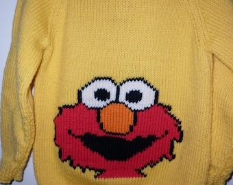Elmo sweater Etsy