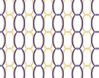 Ashbury Heights fabric, for Riley Blake Designs, Curtain in Purple (C3344) -- BY THE YARD