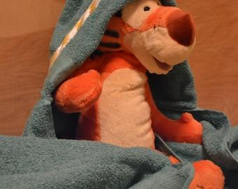 Child's hooded towel, adult hooded towel, baby hooded towel, hooded towel, pool towel, Chevron towel, beach towel