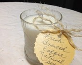 Fresh Coffee Natural Soy Candle in Vintage Mug