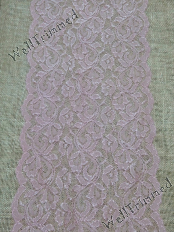 Items similar to 10ft lace table runner 8 1 2 pink table for 12 ft table runner