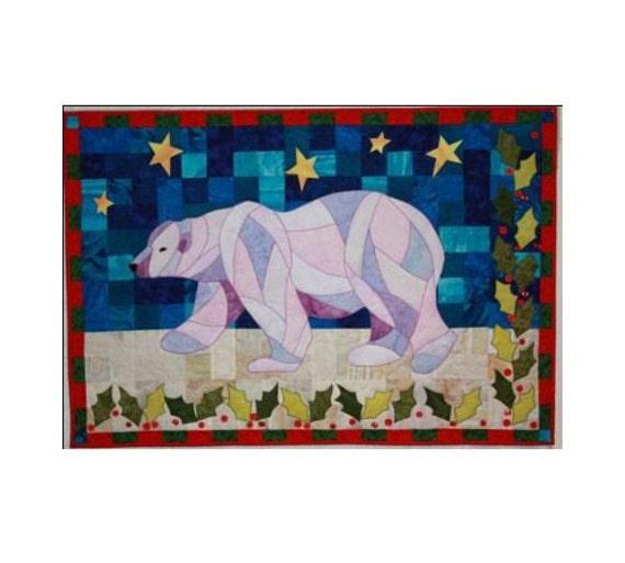 Bj designs patterns holly bear applique by for Bj custom designs