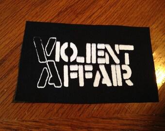 Violent Affair Punk patch