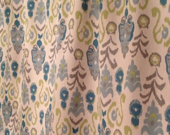 """Custom Curtains - TWO 32"""" W x 30"""" L panels - window curtains - kitchen curtains - cafe curtains"""