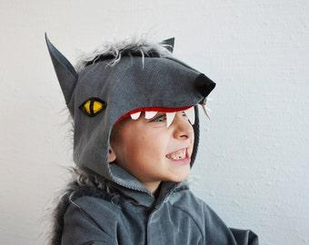 Wolf, Werwolf, Hund, Kinderkostüm, Halloween