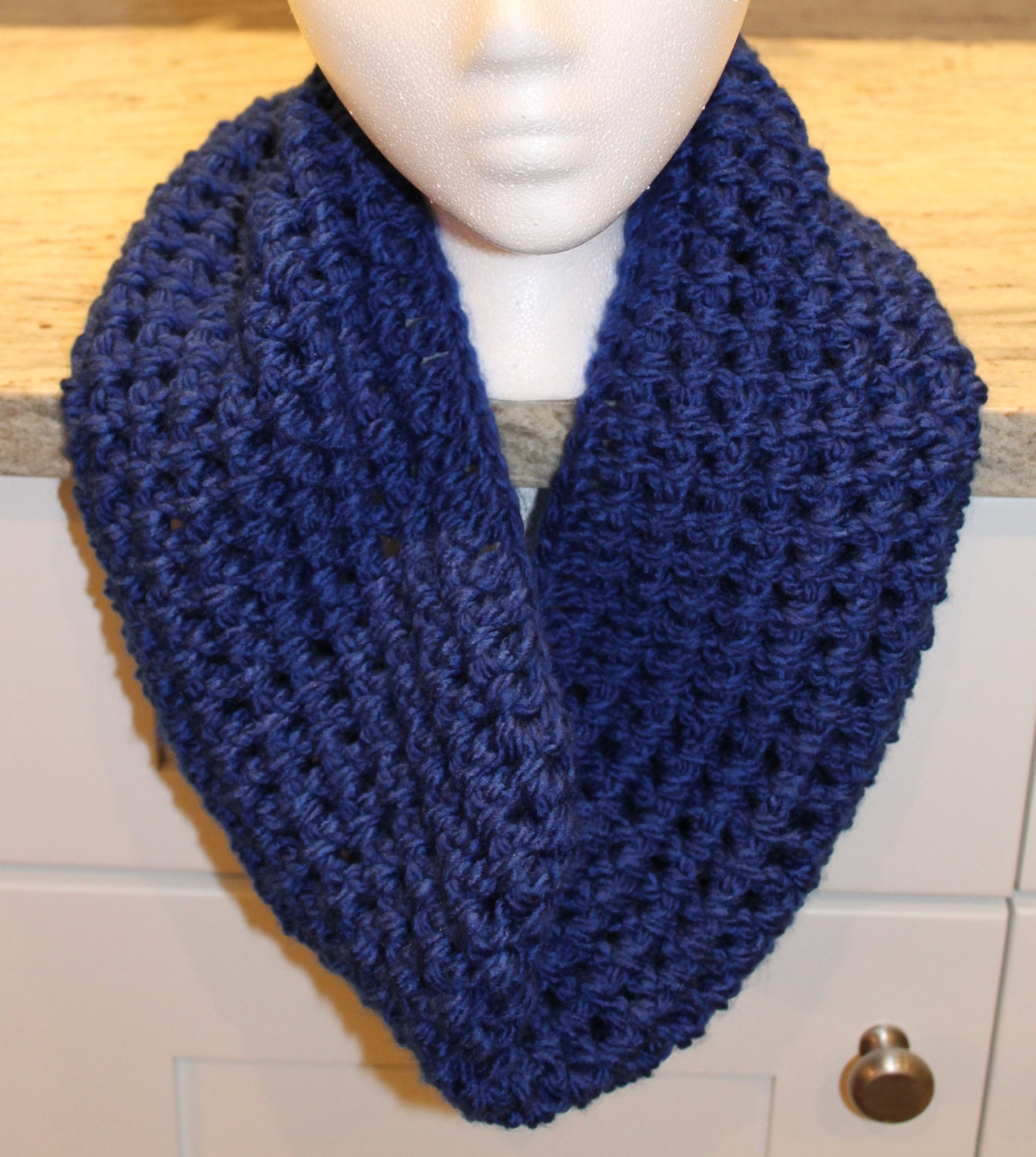 sale infinity cowl scarf neck warmer by chainstitchers