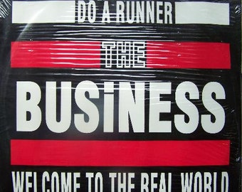 Business, The  Welcome To The Real World WHite Vinyl LP