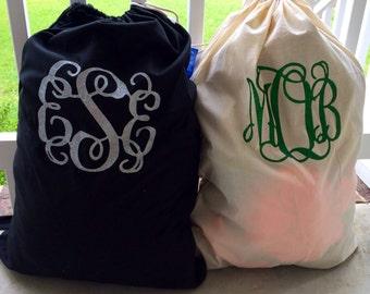 Monogram Laundry Bags