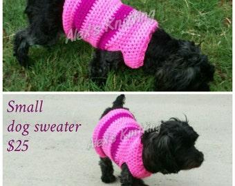 Custom dog sweaters