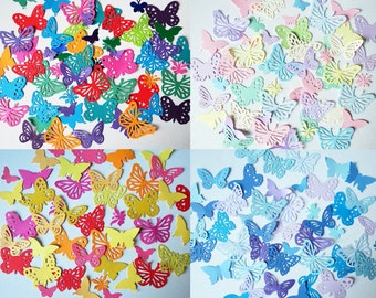 Decorative butterflies, Mixed colour packs of 100. Weddings Crafts, Decoration