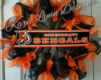 Cincinnati Bengals Wreath