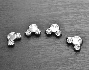Silver Car Floating Charm for Floating Lockets-Gift Idea