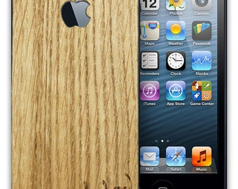 Real Wood Skin for the iPhone 5 and 5s, free shipping worldwide