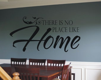 There is no place like home decal