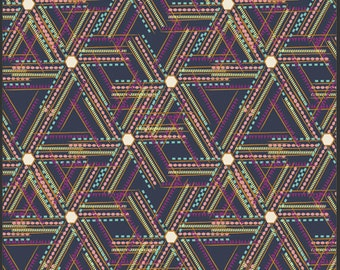 Indie-Afro Fusion Dusk-Art Gallery Fabrics